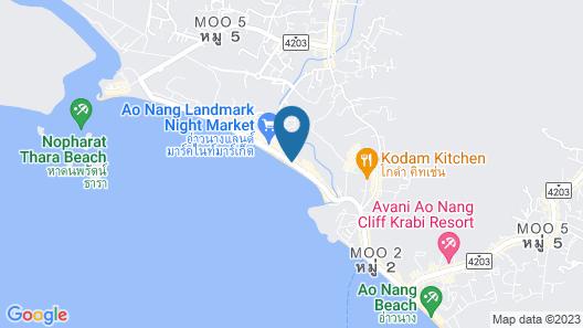 Maneetel Krabi Beachfront Map
