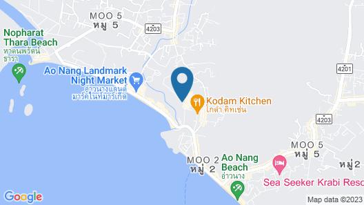 GLOW Ao Nang Krabi Map