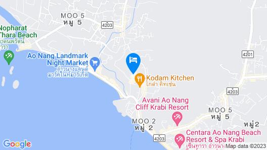 Deevana Krabi Resort Map