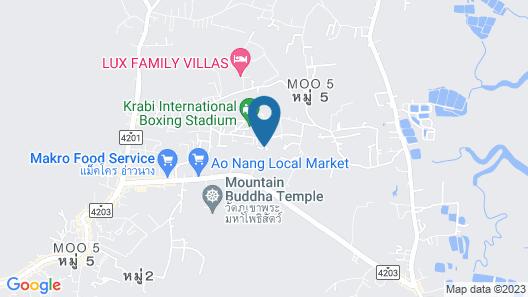 Aonang Eco Villa Map