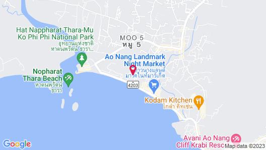 Aonang Ayodhaya Beach Resort Map