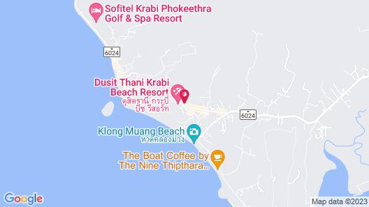 Dusit Thani Krabi Beach Resort Map