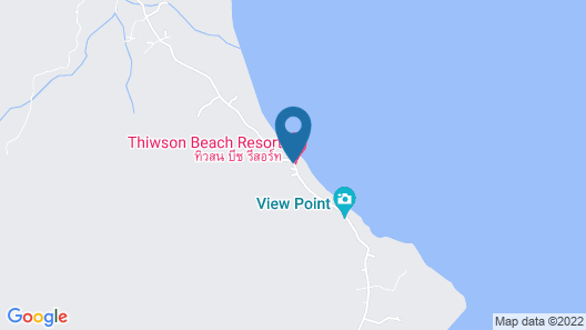Thiw Son Beach Resort Map