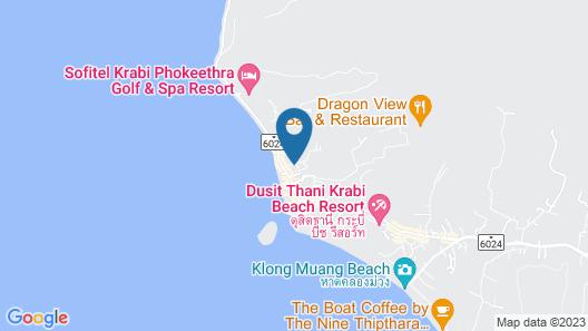 Beyond Resort Krabi Map