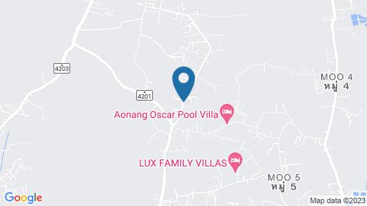 Baan Santhiya Private Pool Villas Map