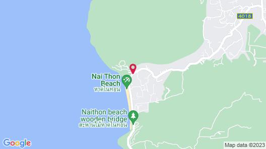Pullman Phuket Arcadia Naithon Beach Map