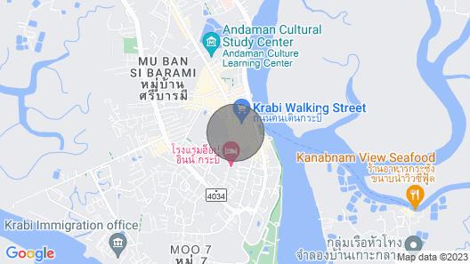 Krabi PN Boutique House Map