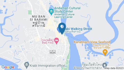 Krabi Town Hotel Map