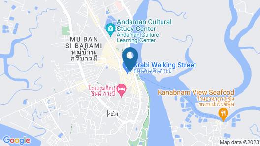 Siri Krabi - Hostel Map