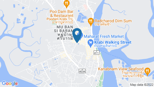 The Nice Hotel Map