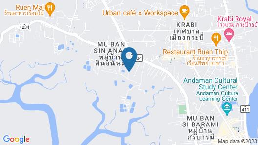 The Ozone Krabi Condotel Map