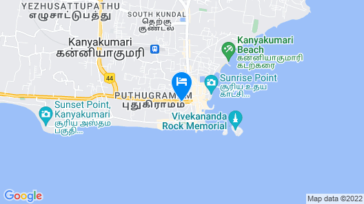 TRI SEA HOTEL Map