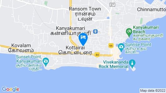 Hotel Sea View Map