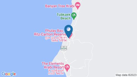 Phulay Bay, a Ritz-Carlton Reserve Map