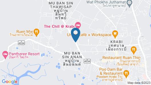The Fong Krabi Resort Map