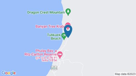 The Tubkaak Krabi Boutique Resort Map