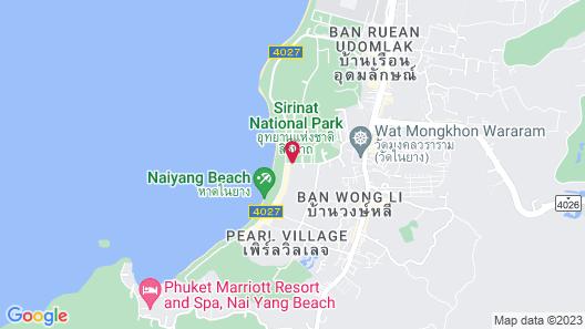 Dewa Phuket (Beach Resort, Villas and Suites) Map
