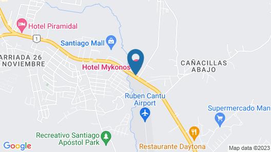 Hotel Mykonos Panama Map