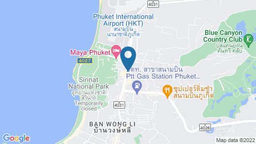Marina Express-AVIATOR-Phuket Airport Map