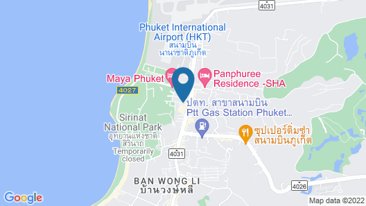 The Snug Airportel Map