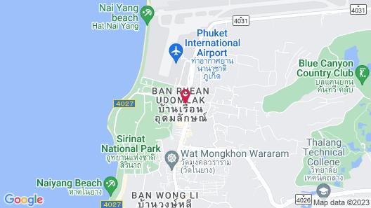 Phuket Airport Hotel Map