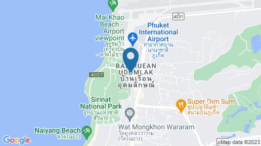 BS Airport at Phuket Map