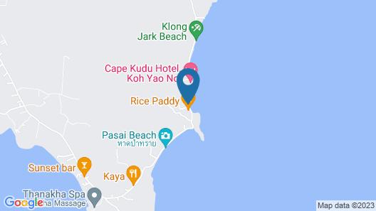 Koh Yao Chukit Dachanan Resort Map