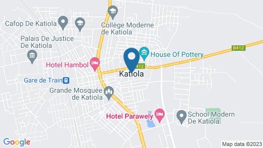 Hôtel Hambol De Katiola Map