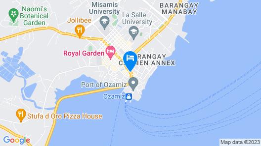 GV Hotel Ozamiz Map