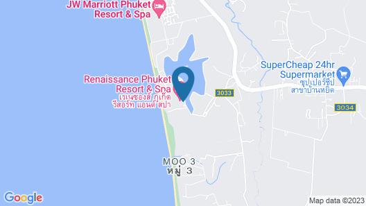 Renaissance Phuket Resort & Spa Map