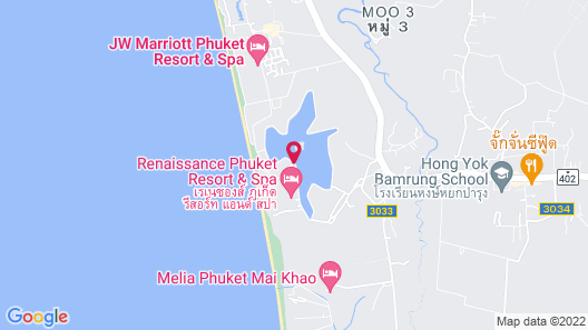 SALA Phuket Mai Khao Beach Resort Map