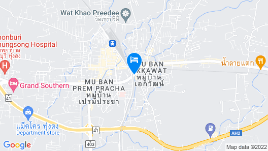 Le Park Hotel Map