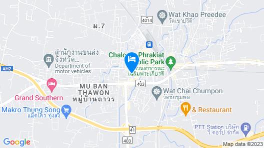 Metro Hotel & Spa Map