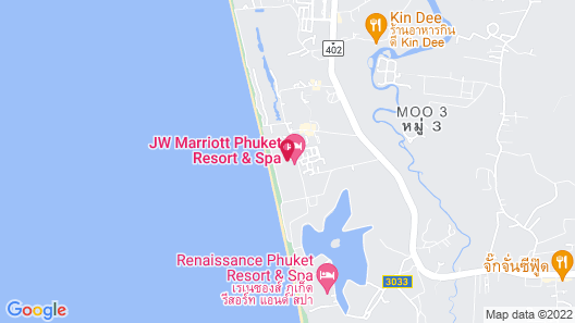 Marriott's Phuket Beach Club Map