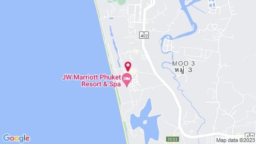 Anantara Vacation Club Mai Khao Phuket Map