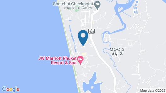 Marriott's Mai Khao Beach - Phuket Map
