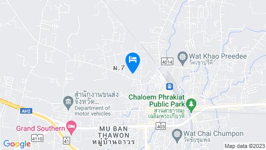 Phumipat Resort Thungsong Map