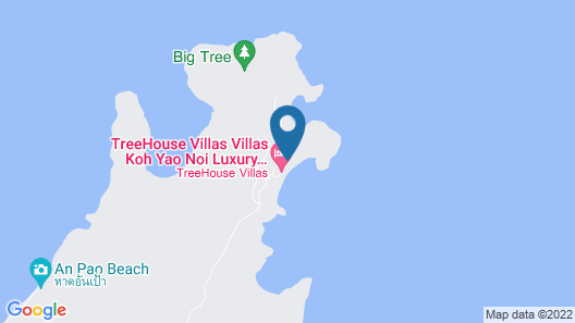 TreeHouse Villas - Adults Only Map