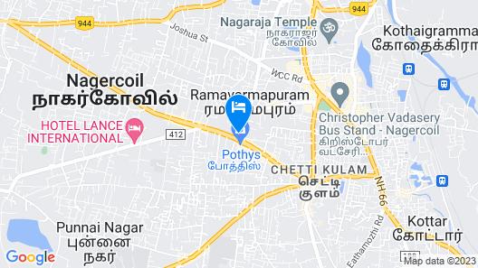 Hotel Vashanth Krishna Map