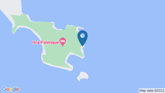 Isla Palenque Map