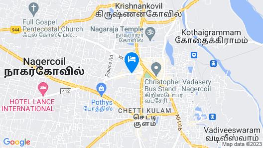 Hotel Reech Map