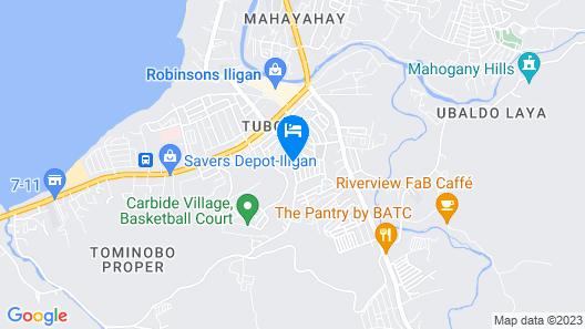 Go Hotels Iligan Map