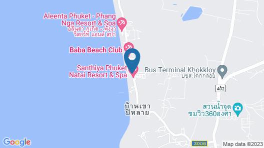 Santhiya Phuket Natai Resort & Spa Map
