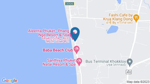 Aleenta Resort and Spa Map