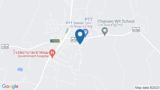 Ruenchan Resort at Khao Phanom Map