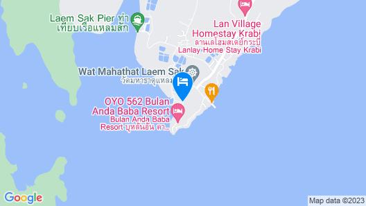 Lanlay Home Stay Krabi Map