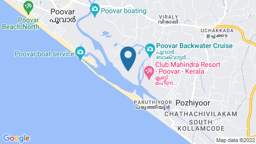Club Mahindra Poovar Map