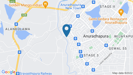 Silver Crown Nature Resort Map