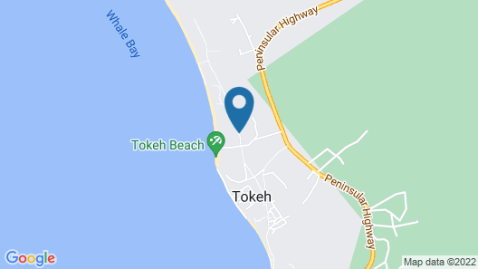 The Place Resort at Tokeh Beach Map