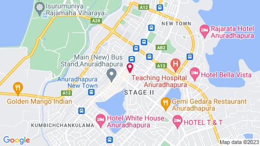 City Capital Hostel Map